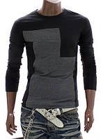 Стильная футболка с длинными рукавами. Производства Украина