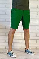 Стильные шорты Пончо зеленые