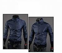 Стильная куртка - ветровка Dark blue. Производства Украина