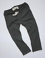 Черные спортивные брюки для девочек