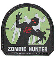 Шеврон ПВХ Zombie Hunter (Green, White, Grey)