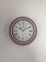 Часы, Ретро, металл, стекло, D25 см, Часы настенные, Днепр