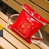 Стильная лаковая сумка-мешок , фото 9