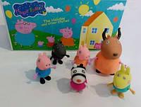 Свинка Пеппа набор из свинок кукла игрушка pig для ребенка подарок