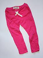 Розовые спортивные брюки для девочек