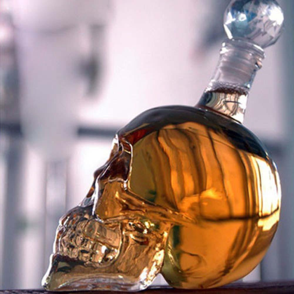 1000ml Crystal Skull Head