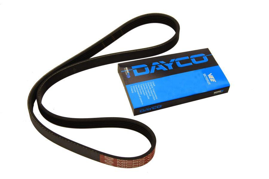 Поликлиновый (ручейковый) ремень на Renault Kangoo 97->08 1.9D  — Dayco (США) - DAY6PK1407