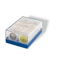 Коробка для хранения рамок для монет, квадрокапсул; Leuchtturm