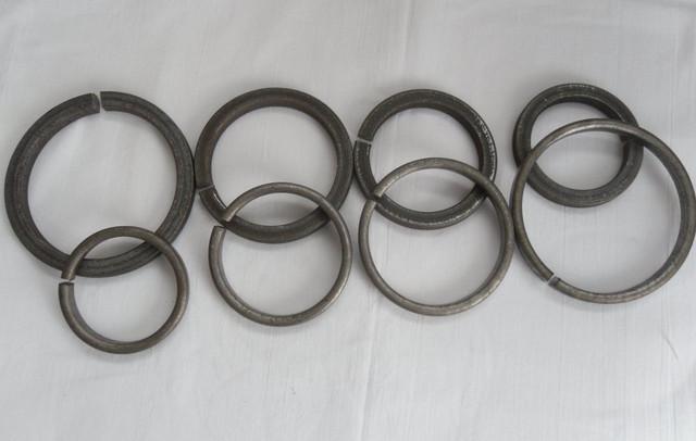Кольца кованые