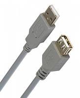 Удлинитель USB 2.0 AM/AF SmartBuy 1.8 м, в техпаке