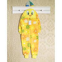 Теплые детские пижамы 92см. Кигуруми мальчикам, 1457мрн.  В наличии 86,92,98 Рост.