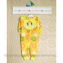 Человечки для новорожденных девочкам Кигуруми , теплые 5 видов. 1457GERDA В наличии _86_92,98 , фото 2