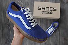 683caf2550f3 Женские кеды Vans Old Skool Blue Gum купить в интернет-магазине ...