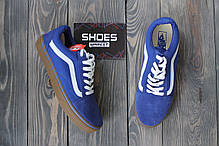 Мужские кеды Vans Old Skool Blue Gum, Ванс Олд Скул, фото 3