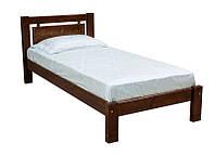 Удобная и аккуратная кровать из натурального дерева. Модель Л-110
