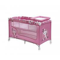 Манеж Bertoni NANNY 2L (pink kitten)