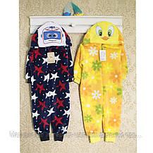 Человечки для новорожденных девочкам Кигуруми , теплые 5 видов. 1457GERDA В наличии _86_92,98 , фото 3
