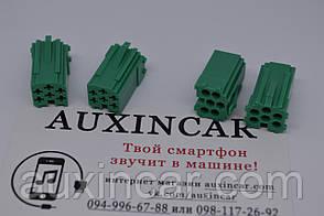 Фишки для штатной магнитолы Renault (aux, линейный выход - саб)