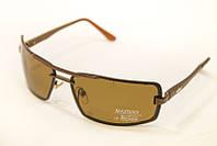 Мужские очки matrix коричневые