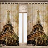 Фото шторы Париж