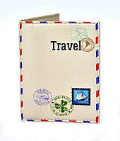 Обложка на биометрический паспорт, права и пластиковые карточки эко кожа