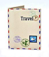 Обложка на ID-карточку новый паспорт, права и пластиковые карточки эко кожа