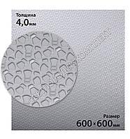 Резина подметочная каучуковая MAGNA WINTER, МАГНА ВИНТЕР, (Китай), р. 600*600*4.0 мм, цв. серый