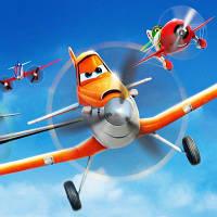 Самолет Air Planes самолетик герой пилот для ребенка любителя неба