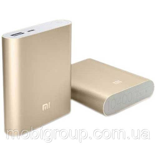 Power Bank Xiaomi 10400 mAh, Gold