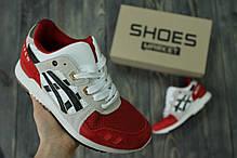 Мужские кроссовки Asics x Afew Gel Lyte III 25th Anniversary Koi H51NK-0190, Асикс Гель Лайт 3, фото 2