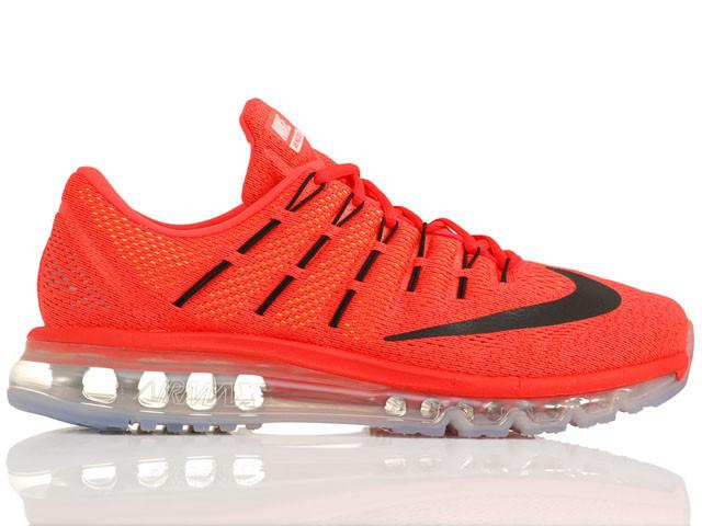 Кроссовки Nike Air Max 2016 Bright Crimson Black University Red