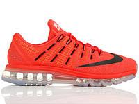 Кроссовки Nike Air Max 2016 Bright Crimson Black University Red, фото 1