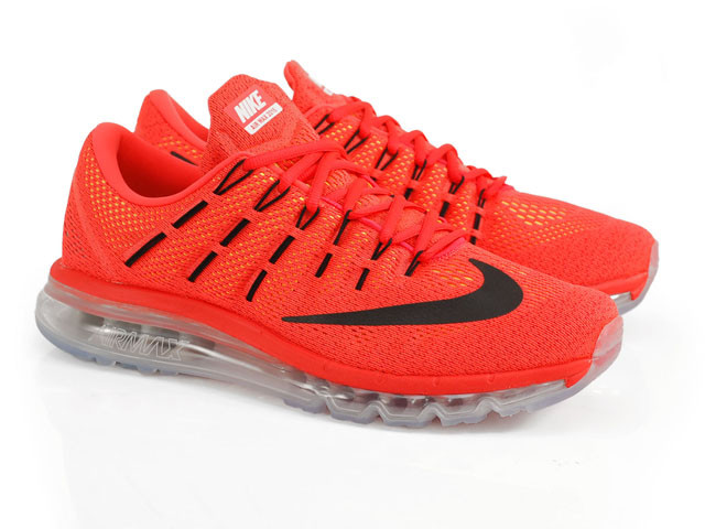 3e135b28 Кроссовки Nike Air Max 2016 Bright Crimson Black University Red, ...