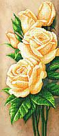 "Схема для вышивки бисером ""Роза"", 24х55 см"
