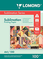 Бумага для сублимационной печати 100г/м, А4/100 листов, код 0809413