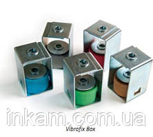Виброкрепления Vibrofix Box 55 шумоизоляция воздуховодов, трубопроводов, оборудования