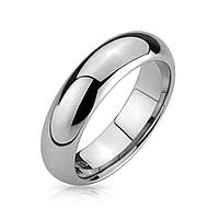 Класическое кольцо из карбида вольфрама 6 мм