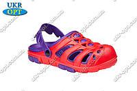 Детские сандалии шлепанцы оптом