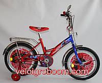 """Велосипед двухколесный для мальчика """"Spider-Man"""" 18 дюймов на 5, 6, 7 лет"""