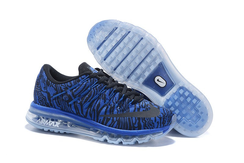 Кроссовки Nike Air Max 2016 Print Racer Blue