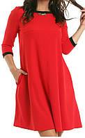 Платье женское (креп-дайвинг)