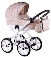 Детская коляска универсальная 2в1 Adamex Sofia кожа 50% 741S (Адамекс София, Польша)