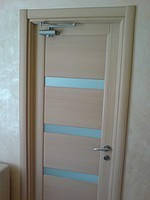 Установка доводчика на деревянную дверь Днепропетровск