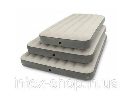 Надувной двуспальный матрас Intex 64709 (203х152х25) , фото 2