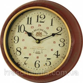 Годинник, Ретро, метал, скло, D25 см