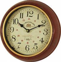Часы, Ретро, металл, стекло, D25 см, фото 1
