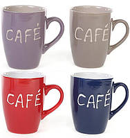 "Кружка Shabby Chic ""Cafe"" 330мл керамика"