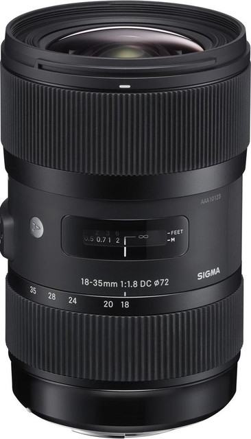 Об'єктив Sigma Art 18-35mm f/1.8 DC HSM Nikon