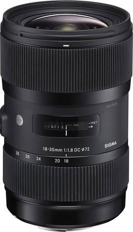 Об'єктив Sigma Art 18-35mm f/1.8 DC HSM Nikon, фото 2