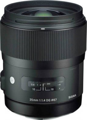 Об'єктив Sigma Art 35mm f/1.4 DG HSM Sony, фото 2